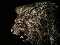lion by TaneaSirbu on DeviantArt King King, Skin Art, Lions, Lion Sculpture, Inspirational, Magic, Deviantart, Statue, Awesome