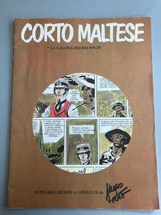 """Corto Maltese - stapled comic book """"La laguna dei bei sogni"""" (1973) - W.B."""