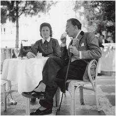 Gala & Salvador Dali, Spain 1951