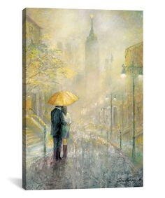 Take a look at this City Romance I Gallery-Wrappd Canvas today!