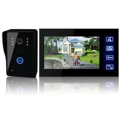 7 Tft Lcd Video Door Phone Intercom Doorbell Touch System Ir Camera Home