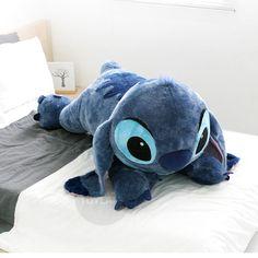 """Disney+Stitch+47""""+Plush+Doll+Big+Size+Lying+Toy+Lilo+and+Stitch+#Disney"""