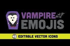 Vampire Emojis