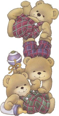 TEDDY BEARS CLIP ART