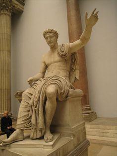 Roman emperor statue, Pergamon museum, Berlin by wrightrkuk, via Flickr
