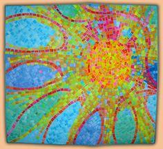 Anne Lullie: Gallery 1. Mosaic in a quilt