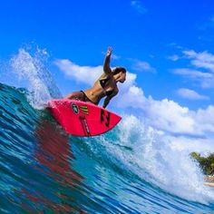 Surf girl... Holly Sue Coffey...
