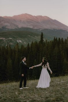 This Colorado mountain wedding is equally breathtaking as it is heart melting Couple Portraits, Wedding Portraits, Wedding Photos, Colorado Wedding Venues, Wedding Locations, Forest Wedding, Woodland Wedding, Alaska Wedding, Inexpensive Wedding Venues