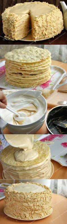 Торт Наполеон с очень вкусным кремом https://ru.pinterest.com/zakharova2015/%D1%82%D0%BE%D1%80%D1%82%D1%8B/