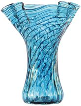 VP570 Mini Ruffle Vase Teal