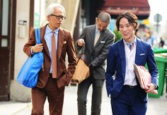 DOTS | Are you brave enough to wear a suit?   Tommy Ton's Street Style: Paris: Style: GQ