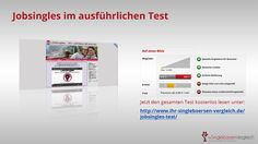 http://www.ihr-singleboersen-vergleich.de/jobsingles-test/ Bei Jobsingles gehen die Singles branchenintern auf Partnersuche. Dieses Portal ist auch kostenlos nutzbar.