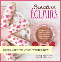 Creative Eclairs : over 30 fabulous flavours and easy cake-decorating ideas for choux pastry creations by Ruth Clemens. Over 30 baking and cake decorating projects for the latest hot trend in baking--Eclairs! Eclairs, Profiteroles, Giant Cupcake Recipes, Giant Cupcakes, Cupcake Cookies, Chocolate Giant Cupcake, Chocolate Covered, Pasta Choux, Easy Cake Decorating