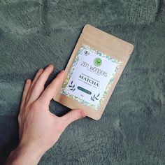 Zen Wonders | matcha green tea packaging | kraft stand up pouch packaging | curated by Copious Bags™