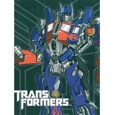 The Transformers Prime Force cartoon Mink Blanket measures 60x80 inches and comes in a reusable plastic carrying case.  It is big enough to cover yourself on your sofa or drape over a twin or full size bed.  This blanket features the Marvel Comic Robot, Optimus Prime.  It is officially licensed. These blankets are extra warm & plush and have superior durability. Easy Care, machine wash and dry. Buy online www.TheBlanketCompany.com or Call at (801) 280-6200.