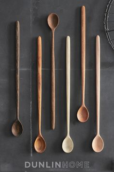 Set of Six Tasting Spoons -- dunlinhome.com (want!)