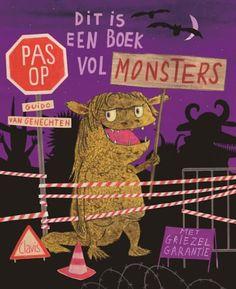 Dit is een boek vol monsters - Guido van Genechten Creepy, Scary, Album Jeunesse, This Is A Book, Reading Resources, Lectures, Book Crafts, Craft Books, Halloween