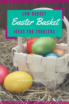 Budget friendly easter basket ideas basket ideas easter baskets low budget easter basket ideas for toddlers negle Image collections