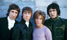 The Who, (left to right) Pete Townshend, Keith Moon, Roger Daltrey, and John Entwistle.