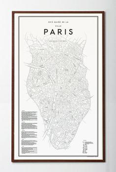 David Ehrenstråhle, 2012 Guide de la ville paris