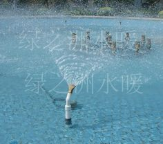 Cheap landscape, Buy Quality landscape courtyard directly from China landscape fountain Suppliers: A full 2 inch copper general fan nozzle flat mouth fountain head fountain landscape rockery courtyard landscape Fountain Head, Waterfall Fountain, Courtyard Landscaping, Head Head, Large Fan, Sprinkler, Hanging Baskets, Garden Supplies, Irrigation