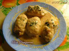 Involtini di pollo | Ricetta Involtini di pollo - PTT Ricette Antipasto, Prosciutto Cotto, Curry, Food And Drink, Eggs, Chicken, Cooking, Breakfast, Recipes