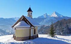 Die Kapelle am Pozenzenbichl am Lockstein, Berchtesgaden