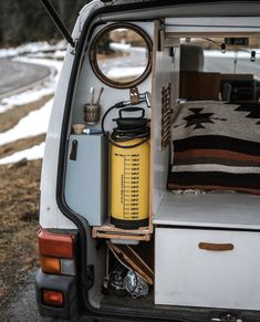 841 Likes, 8 Comments - VanLife Auto Camping, Truck Camping, Van Camping, Van Conversion Interior, Van Interior, Camper Conversion, Vw T3 Westfalia, T3 Vw, Bus Life