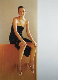 Kate Moss by Wolfgang Tillmans