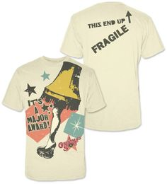 ** NOTE TO SELF: MUST BUY THIS FOR CHAD**** Leg Lamp A Christmas Story T-Shirt