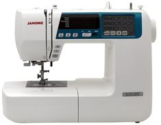 Owner's describe the Janome as good bang for your buck, great value, worth the money, a quality product, etc. The has great stitch quality and a host of features and accessories. If you are in the market for a good machine this one is worth a look. Sewing Machine Brands, Sewing Machines Best, Sewing Machine Reviews, Sewing Patterns Free, Sewing Tutorials, Sewing Projects, Sewing Ideas, Juki, Janome