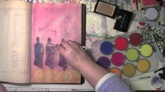Using Pan Pastels in an Art Journal with Carolyn Dube, via YouTube.