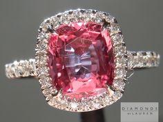 cushion cut sapphire  Pretty ring