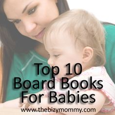 Top 10 board books for babies - LOTS of classics!