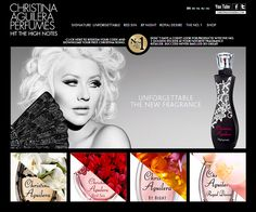 Christina Aguilera Perfumes:  Signature, Red Sin, By Night, Royal Desire, & NEW Unforgettable .....*Inspire*, *Secret Potion*, *X Pose Collection*.