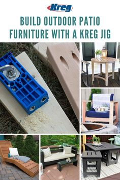 Make the outdoors yours this summer with the help of a Kreg Jig! Build custom patio furniture to create the outdoor space of your dreams. Discover 900+ FREE project plans at buildsomething.com/plans/list and get started building your perfect backyard today! || #kregjig #kregtool #kregtools #tools #outdoorfurniture #outdoorproject #outdoorprojects #backyard #garden #patio #summer #chaiselounge #outdoorsofa #diyproject #diyprojects #diy #woodworking Woodworking Articles, Fine Woodworking, Outdoor Projects, Diy Projects, Kreg Jig Projects, Kreg Tools, Backyard, Patio