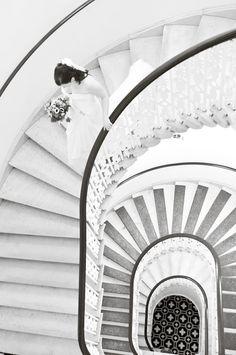 making an entrance Wedding Stairs, Couple Shots, Bridal Session, Wedding Photos, Wedding Ideas, Stairways, Monaco, Entrance, Wedding Planning