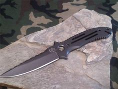 """Colt Titanium Fixed Blade Knife 8 1/2"""" Overall Solid Nylon Sheath ABS Liner 267 #Colt"""