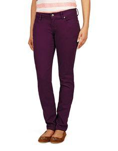 Eggplant colored pantaloons. yay !
