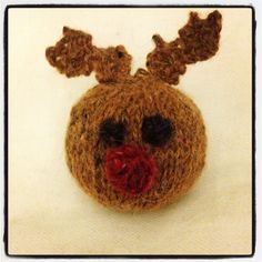 Mini Rudolph bauble :)