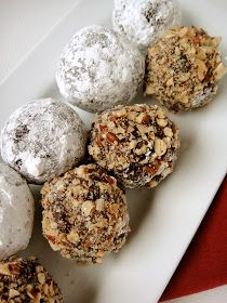 giddy up gluten free: Gluten-Free Rum Balls