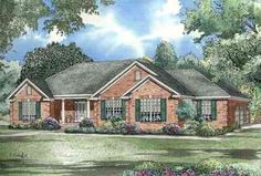 Traditional Design with Garage and Workshop - 5940ND | 1st Floor Master Suite, CAD Available, Corner Lot, PDF, Photo Gallery, Southern, Split Bedrooms, Traditional | Architectural Designs