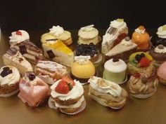 gebakjes --- dutch pastries served at weddings or other impt events...