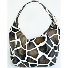 FASH Giraffe Print Lady Handbag