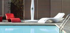 Zoe: pool lounge with adjustable back - MYYOUR
