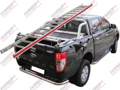New Ford Ranger (T6) double cab: #Ford #Ranger #T6 #2013 #4x4 #accessories #offroad #cars #pickup #truck  #roller #lid #best #fashion #off-road #spare parts #cover