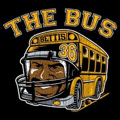 Jerome Bettis the bus