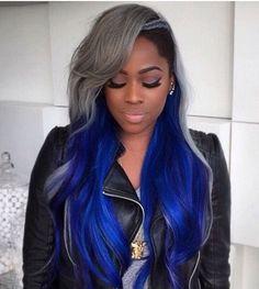 Gray and blue.....xoxo