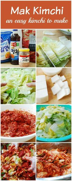 Good authentic homemade kimchi is much easier than you think. Cut up the cabbage, salt, rinse, and mix with the seasoning!