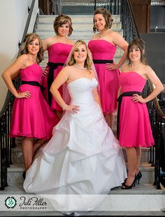 Bridal Party - Padre Hotel, Bakersfield, CA